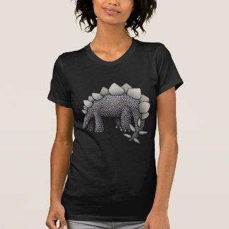Stegosaurus Cartoon T-Shirt