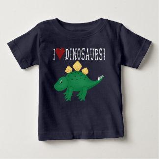 stegosaurus Dinosaur Baby T-Shirt