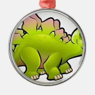 Stegosaurus Dinosaur Cartoon Character Christmas Ornament