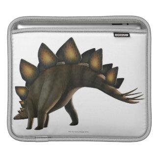 Stegosaurus dinosaur, computer artwork. iPad sleeve