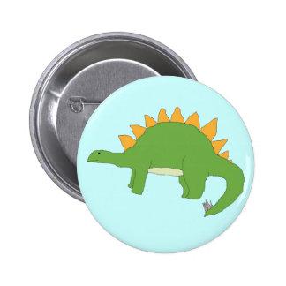 Stegosaurus pin