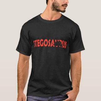 Stegosaurus silhouette t shirt