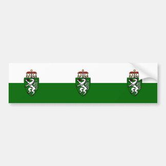 Steiermark (State), Austria flag Bumper Sticker