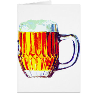 Stein of Ale Greeting Card