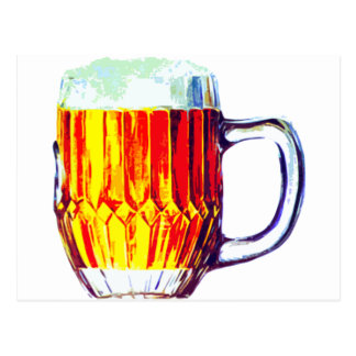 Stein of Ale Postcard