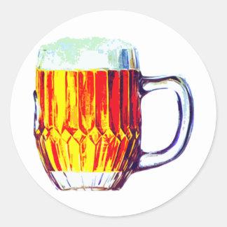 Stein of Ale Round Sticker