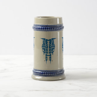 Stein with Blue Totem Logo