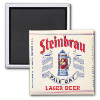 Steinbrau Pale Dry Lager Beer Magnet