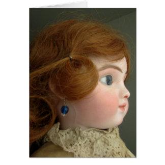 Steiner Doll Best Wishes Card - Customizable