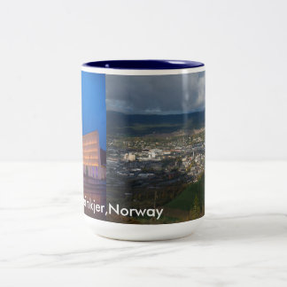 Steinkjer, Norway Two-Tone Coffee Mug