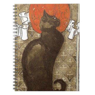 Steinlein's Cat - Art Nouveau Note Books