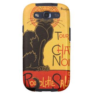 Steinlen: Chat Noir Samsung Galaxy S3 Cover