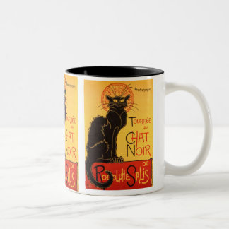 Steinlen: Chat Noir Two-Tone Mug