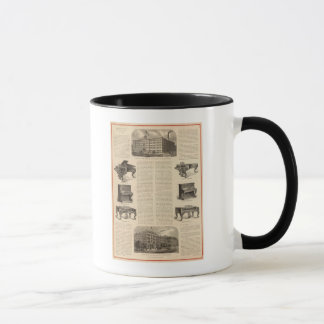 Steinway and Sons, Piano Manufacutrers Mug