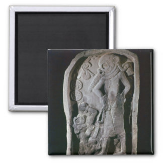 Stela depicting a ball player, from Guatemala Magnet