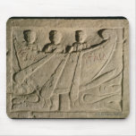 Stela depicting a rowing boat 'Felix Itala' Mouse Pads