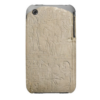 Stela depicting Ramesses II offering incense to hi iPhone 3 Cover