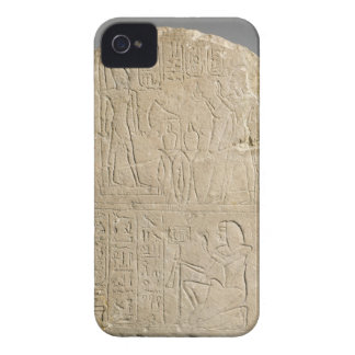 Stela depicting Ramesses II offering incense to hi iPhone 4 Case