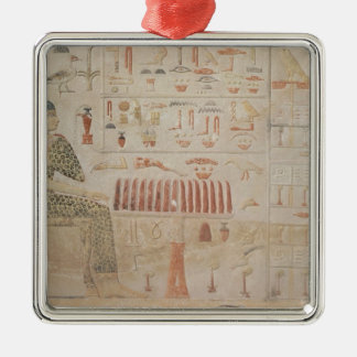 Stela of Princess Nefertiabet Christmas Ornament