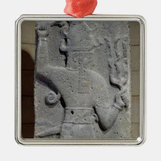 Stela of Teshub, Syrian storm god Christmas Ornament