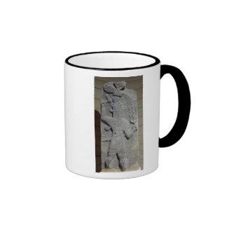 Stela of Teshub, Syrian storm god Coffee Mugs