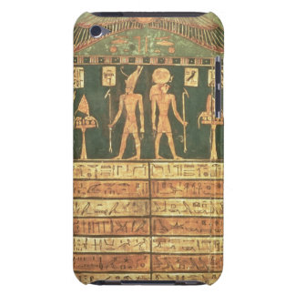 Stele of Horsiese, Late Period (painted wood) iPod Touch Cover