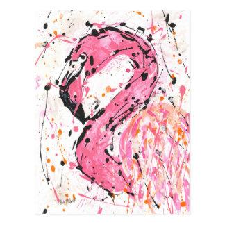 Stella Flamingo Post Card