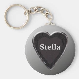 Stella Heart Keychain by 369MyName