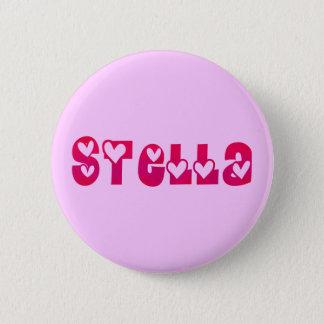 Stella in Hearts 6 Cm Round Badge