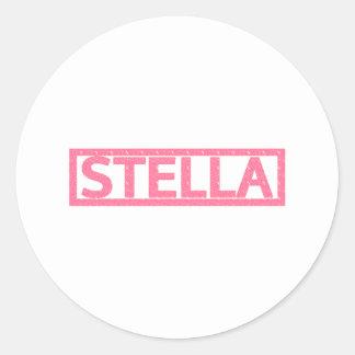 Stella Stamp Classic Round Sticker
