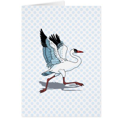 Stella Stork Greeting Card