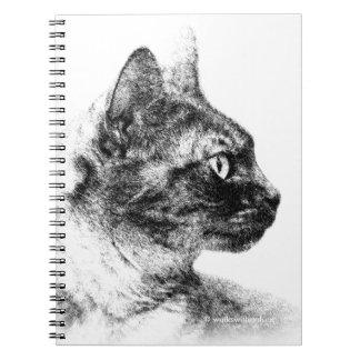 Stella the Grey Cat Notebook