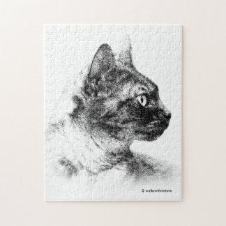 Stella the Grey Cat Puzzle