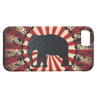 Stella Vintage Circus Elephant Free Mandarin Case For The iPhone 5