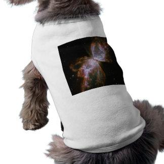 Stellar Demise in Nebula NGC 6302 Sleeveless Dog Shirt