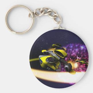 Stellar Drift Keychain