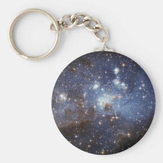 Stellar Nursery Basic Round Button Key Ring