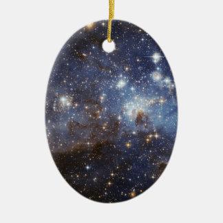 Stellar Nursery Ceramic Oval Decoration