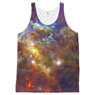 Stellar nursery in Unicorn Constellation All-Over Print Tank Top