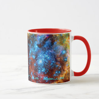Stellar Nursery R136 in the Tarantula Nebula Mug