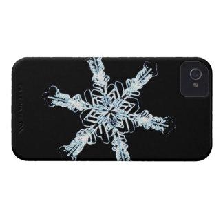 Stellar snow crystal iPhone 4 cover