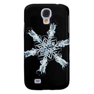 Stellar snow crystal galaxy s4 case