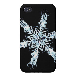 Stellar snow crystal iPhone 4/4S cover