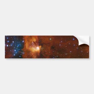 Stellar Star Birth RCW 108 NASA Bumper Sticker