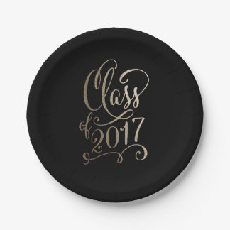 Stellar Year EDITABLE COLOR Graduation Plates