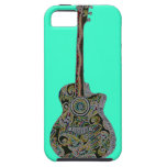 StellaRoot 1 Drawn Custom Vintage Guitar iPhone 5 Cases