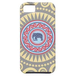 StellaRoot Damask Elephant Vinatge Case For The iPhone 5