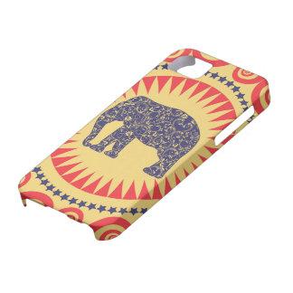 StellaRoot Damask Elephant Vinatge Preppy Burnt iPhone 5 Cases