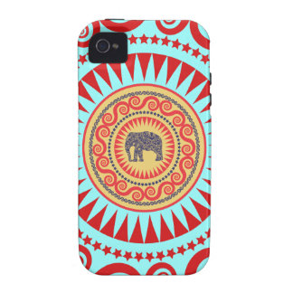 StellaRoot Damask Elephant Vinatge Preppy iPhone 4 Cases