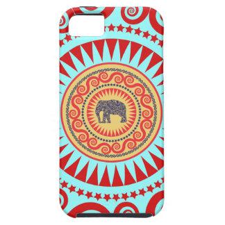 StellaRoot Damask Elephant Vinatge Preppy iPhone 5 Cases